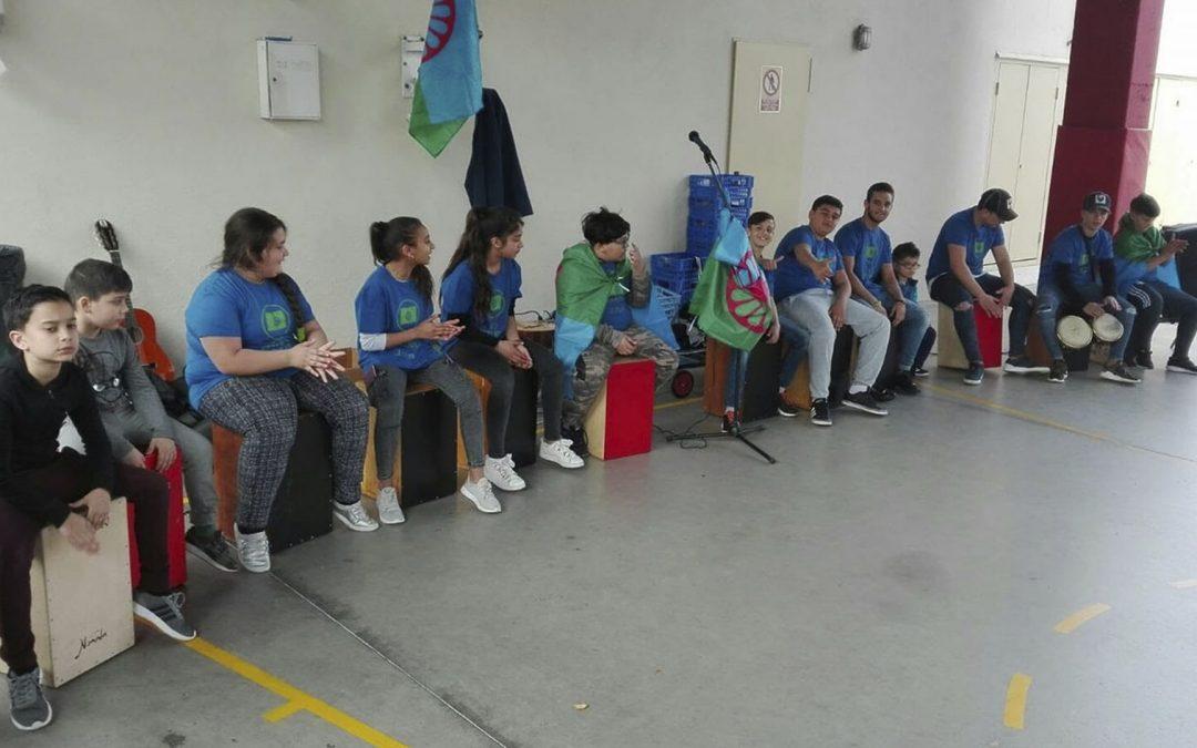 Els joves del projecte Pigmalió graven un CD de rumba catalana – 22/06/18