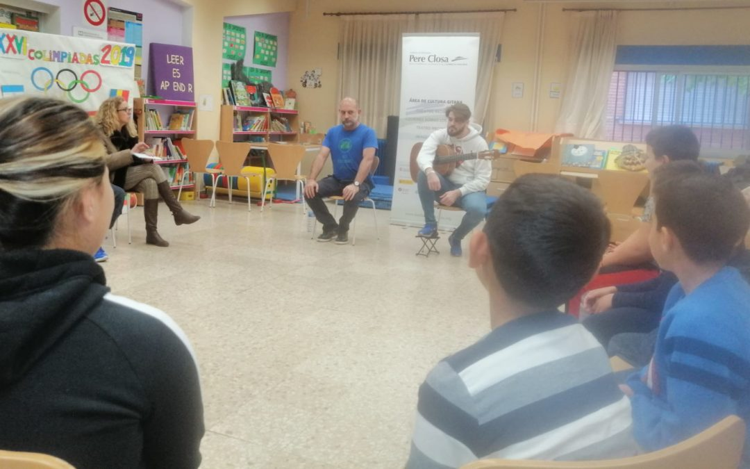 La Fundació Privada Pere Closa ha dut els Contes Rromane a Madrid i Albacete al llarg de dues setmanes – 28/11/19